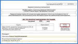 Звіт про використання добрив і пестицидів S2702010